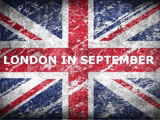 London in September